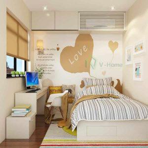 Thiết kế Phòng Ngủ Nhỏ 3m2 Độc Đáo Tiết Kiệm Diện Tích