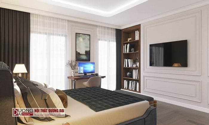 Phòng ngủ con của chủ nhà căn biệt thự Vincom Plaza Sơn La