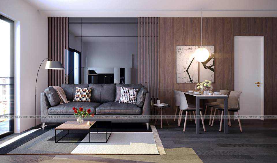 Thiết kế phòng khách siêu đẳng cấp với màu đen huyền bí