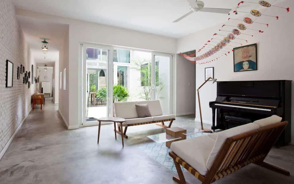 Thiết kế nội thất biệt thự mini - Nội Thất Đương Đại