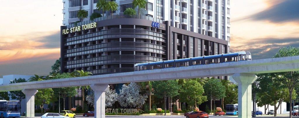 Thiết kế nội thất chung cư FLC Star Tower Hà Đông