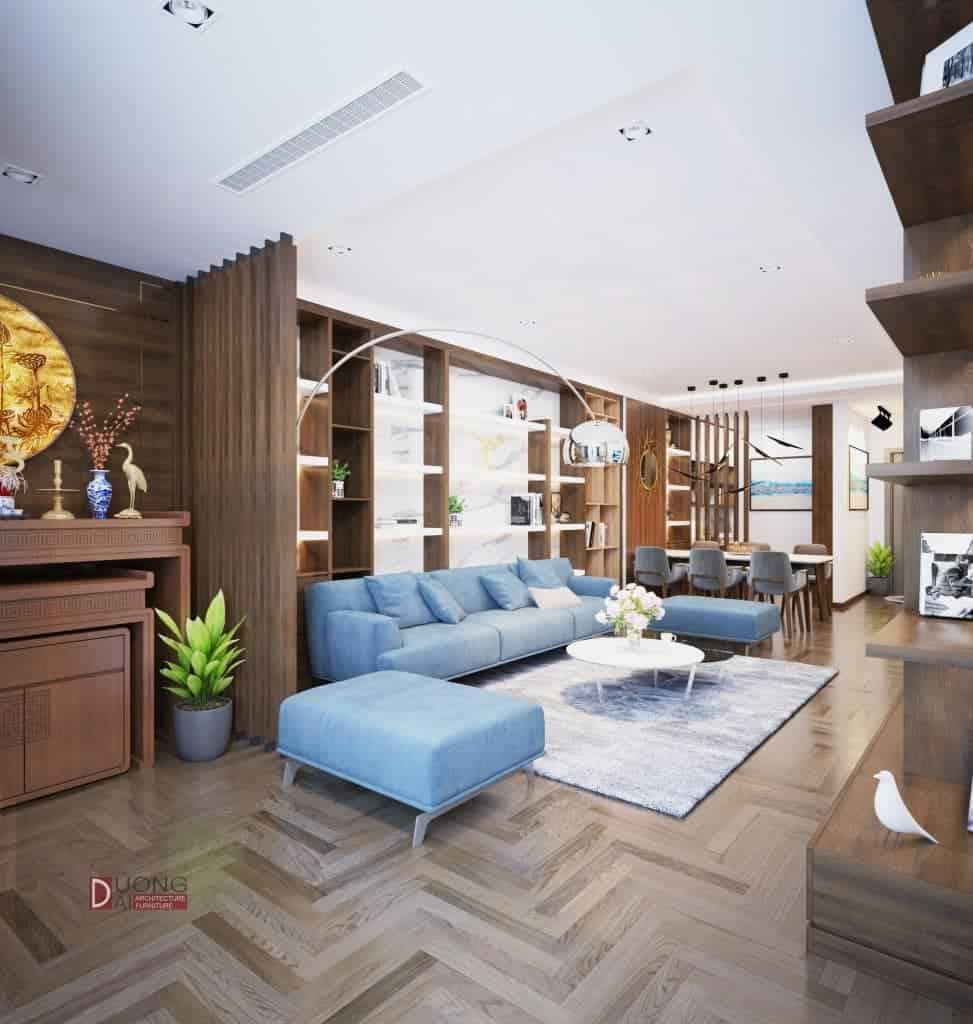 Thiết kế nội thất chung cư Mulberry Lane - Sang trọng và đẳng cấp