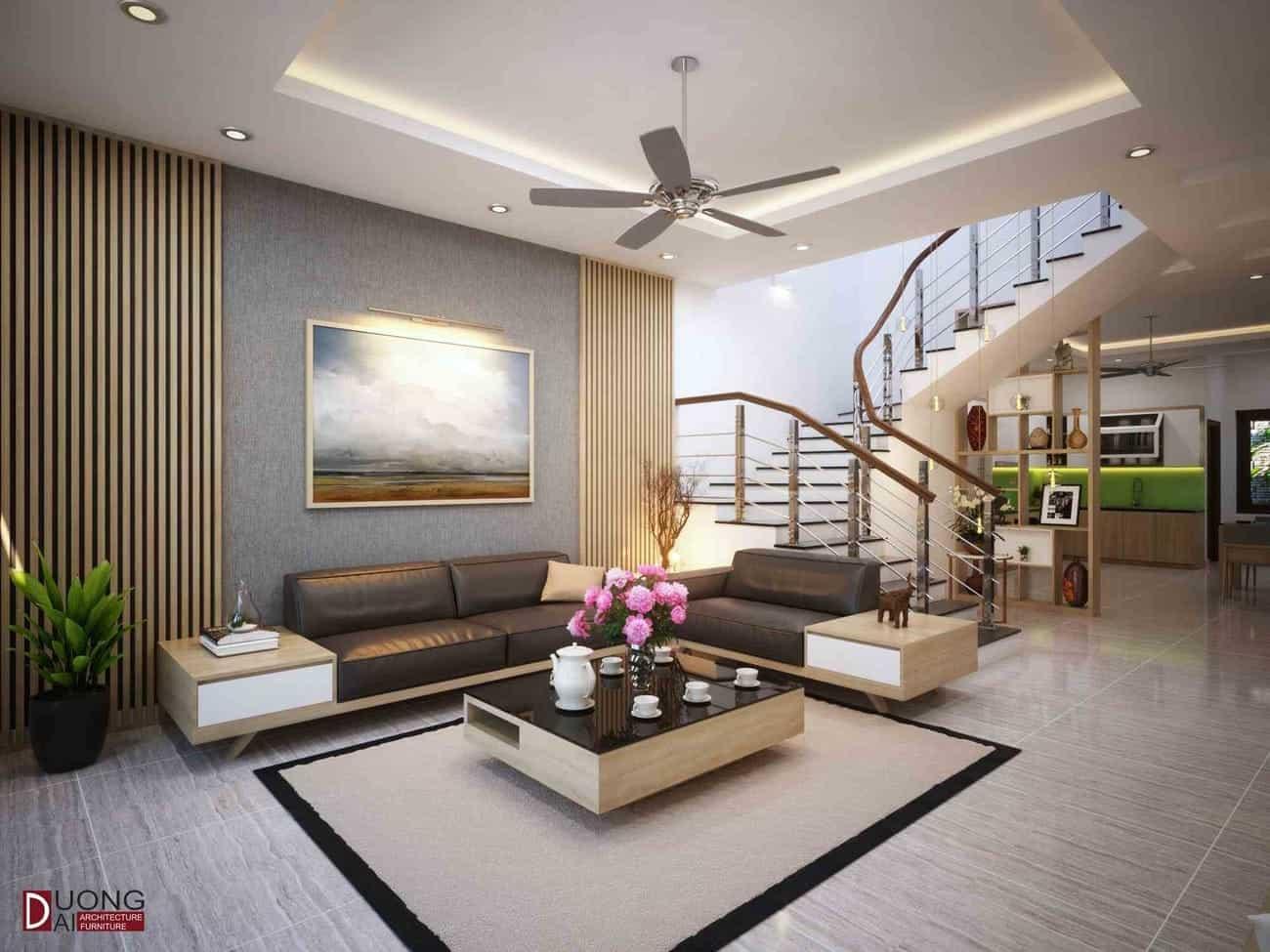 Thiết kế nội thất nhà phố tại Hà Nam - Chị Hoa (Phủ Lý)