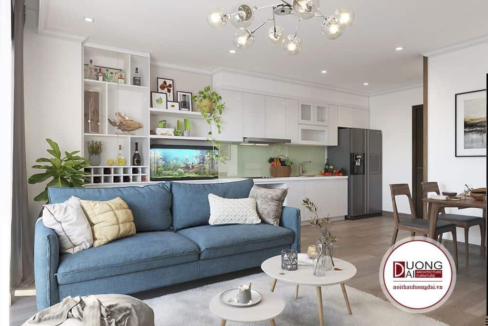 Giải pháp đó sẽ giúp căn hộ không lãng phí về không gian, có thể thiết kế nhiều sản phẩm đa năng.