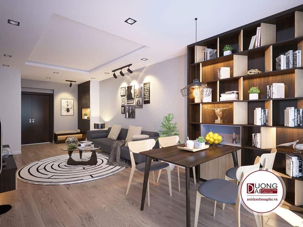 Bạn là người thích đọc sách và muốn có không gian ấy ở phòng khách?