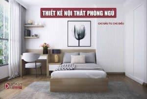 Thiết kế nội thất phòng ngủ nhà phố duy nhất - Chú Điều