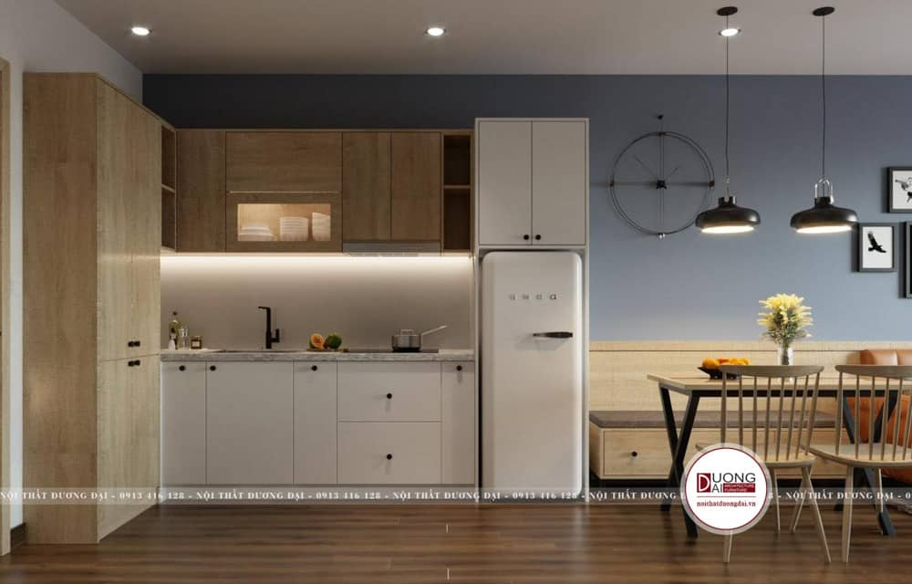 Mẫu thiết kế tủ bếp đẹp và đa chức năng
