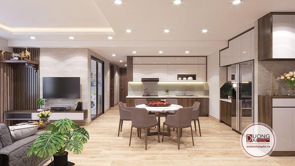 Thiết Kế Tủ Bếp Chung Cư |Top 10+ Mẫu Tủ Bếp Hot Nhất Hiện Nay