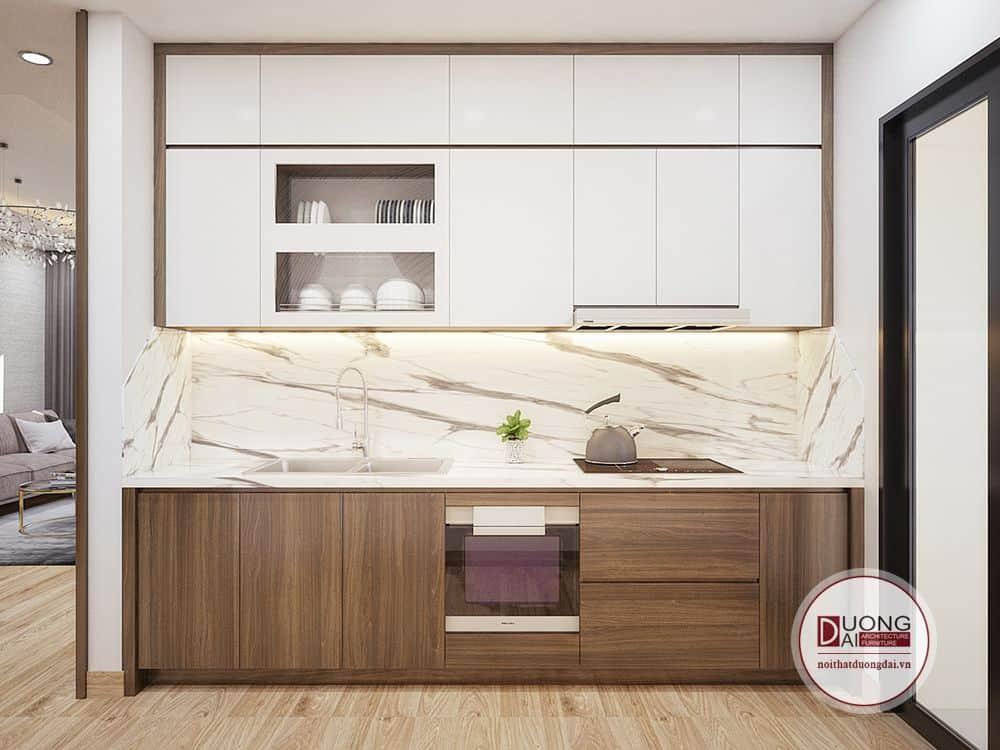 Tủ bếp nhà anh Khiêm Thanh Xuân Complex