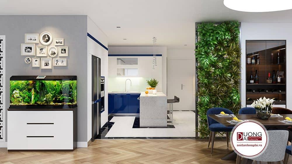 Tủ bếp đa năng cho chung cư