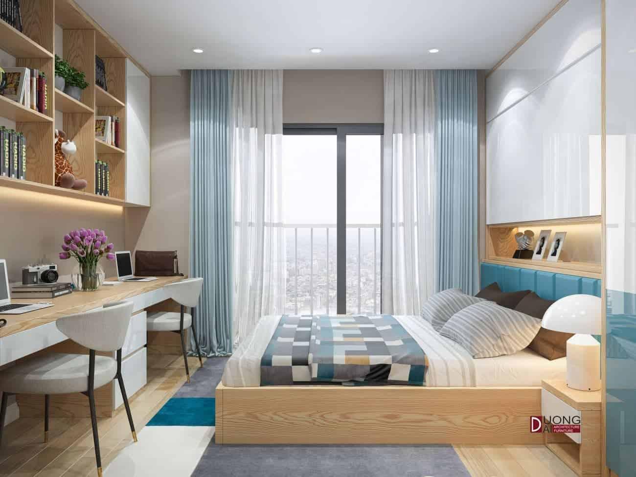 Thư giãn cuộc sống với mẫu thiết kế nội thất chung cư Handiresco
