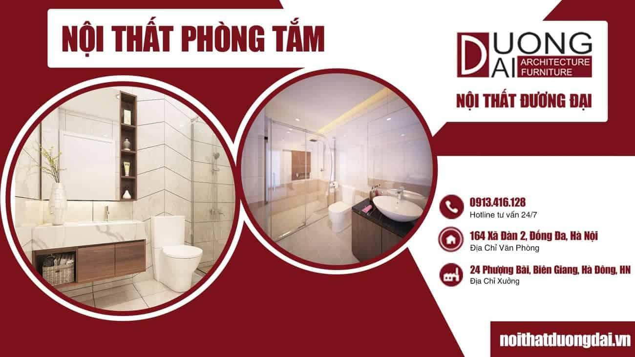 Phát cuồng ý tưởng thiết kế nội thất phòng tắm mới lạ, sang trọng