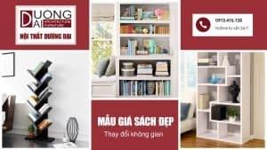 Thay đổi không gian căn phòng với những mẫu giá sách đẹp rạng rỡ