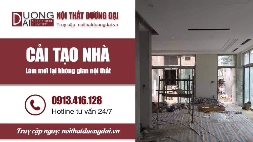 Thi công cải tạo, sửa chữa Kiến Trúc & Nội Thất chuyên nghiệp