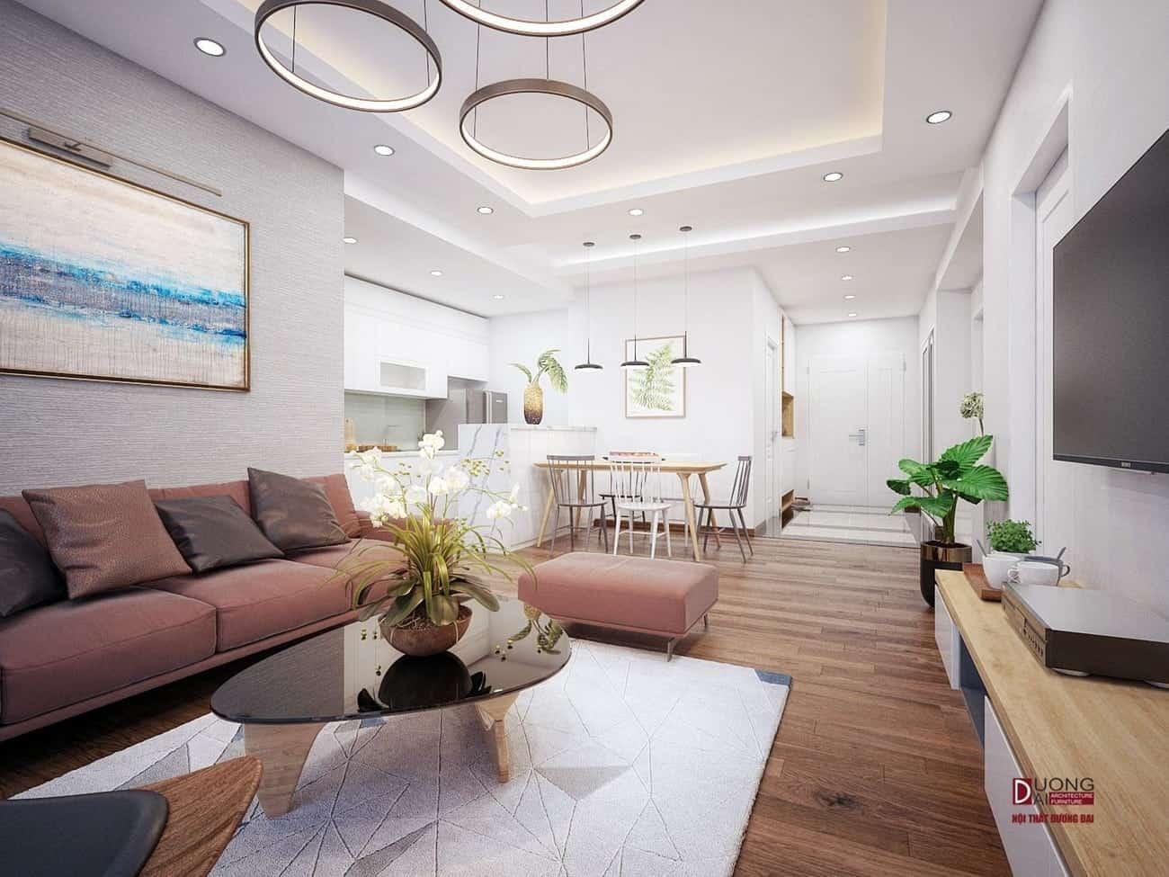 Thiết kế căn hộ Vinhomes Golden River đẹp