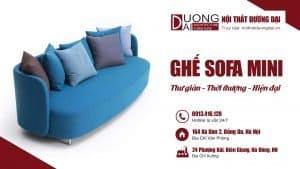 Thư giãn với những bộ ghế sofa mini thời thượng và hiện đại