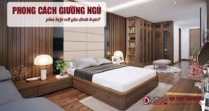 Căn phòng nhà bạn thì hợp với phong cách giường ngủ nào?