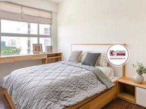 Giường Ngủ Melamine Giá Rẻ |Giường Ngủ Gỗ Công Nghiệp MFC