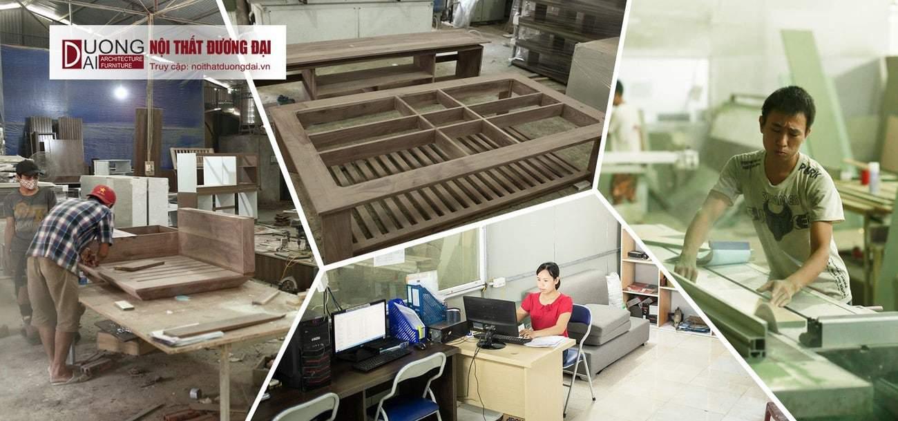 Xưởng sản xuất có quy trình sản xuất đạt tiêu chuẩn