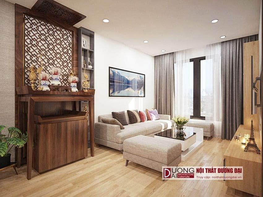 Thiết kế căn hộ Sunrise Riverside đẹp