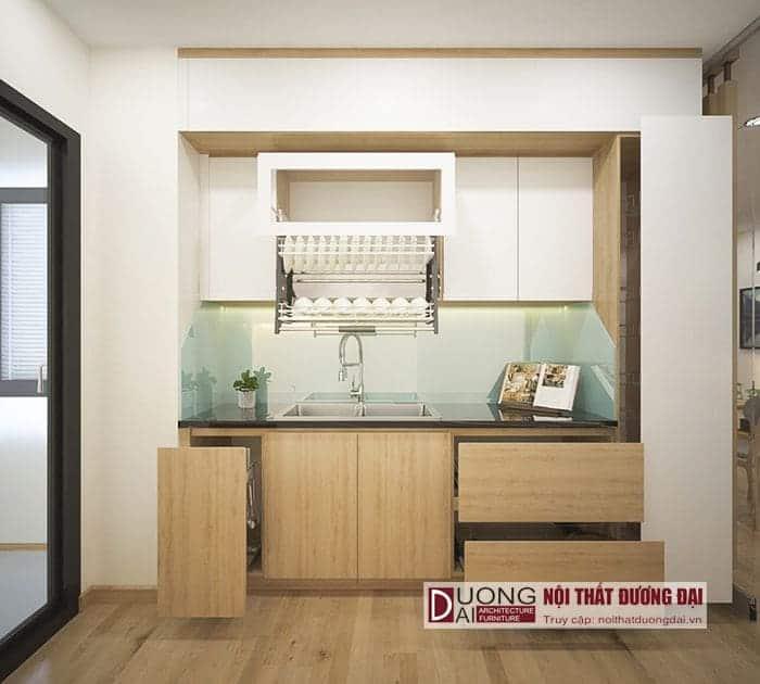 Thiết kế phòng bếp nhỏ gọn và hiện đại