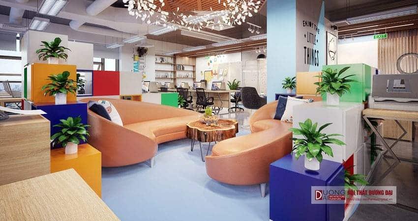 Thiết kế nội thất văn phòng CleverAds - Đối tác của Google và Facebook