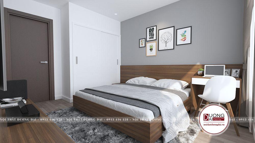 Cách bài trí phòng ngủ đơn giản nhưng đảm bảo sự tiện nghi