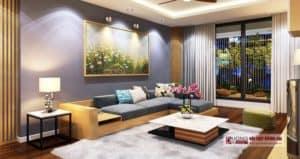 Thiết kế nội thất nhà phố tại Nam Định dự án nhà 4 tầng (anh Kiên)