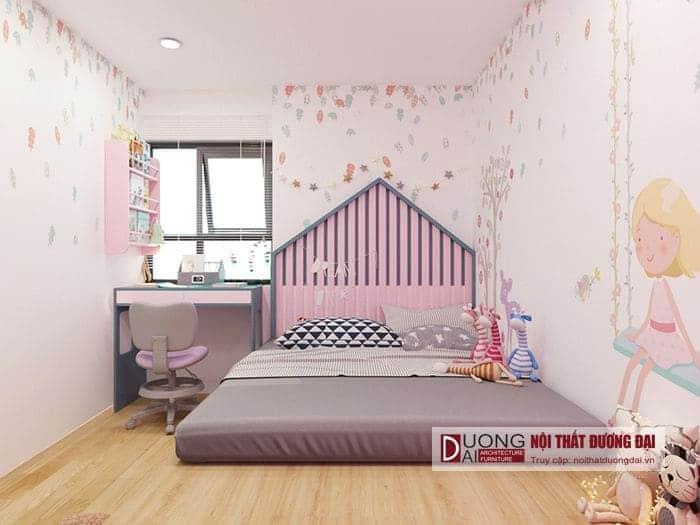 Thiết kế phòng ngủ cho bé đầy ngộ nghĩnh và đáng yêu