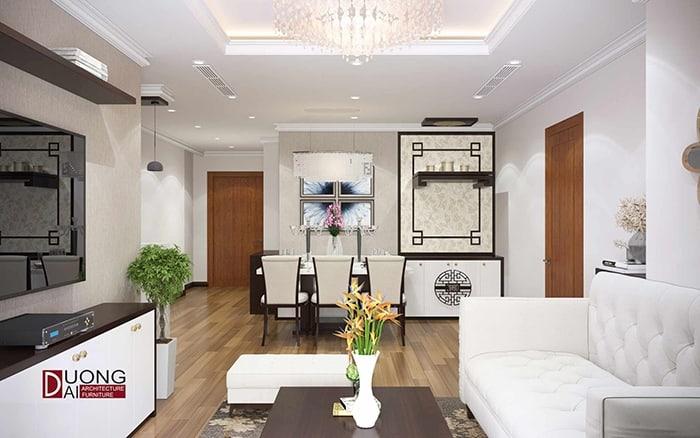 Ngây ngất với mẫu thiết kế nội thất chung cư 3 phòng ngủ này
