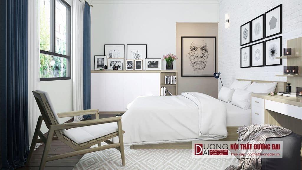 Thiết kế nội thất chung cư phong cách tối giản Scandinavian