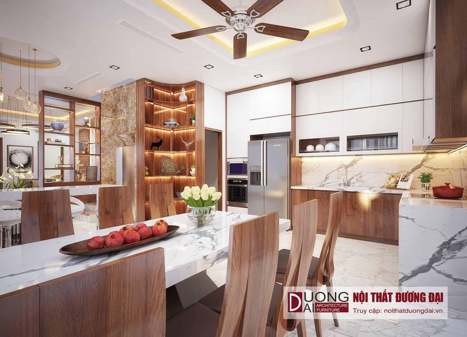 Thiết Kế Phòng Bếp 20m2 | BST 19+ Mẫu Xa Hoa Đẳng Cấp Nhất