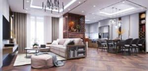 [Giá rẻ] Đơn vị chuyên thiết kế nội thất chung cư & thi công nội thất