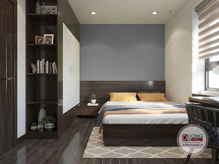 Thiết kế nội thất chung cư Homeland anh Hoàng