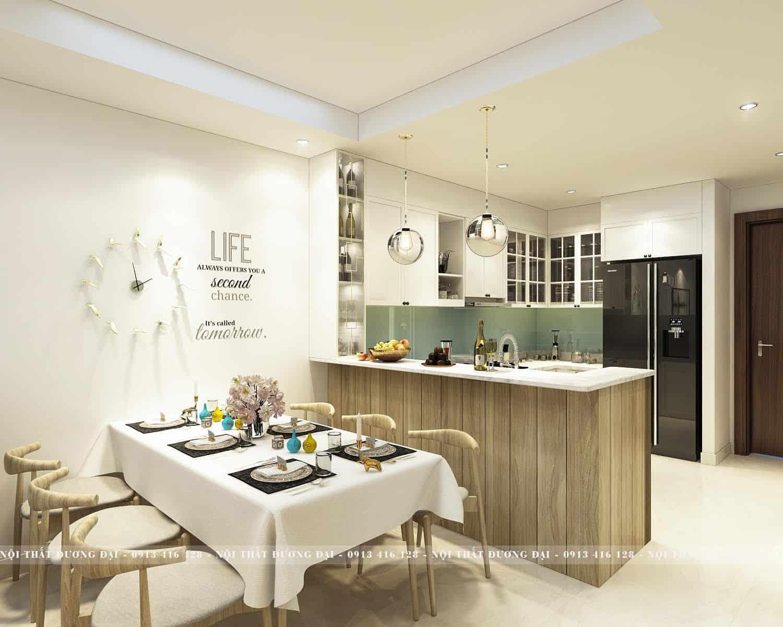 Báo giá thiết kế nội thất chung cư của Nội Thất Đương Đại