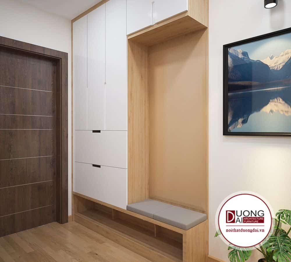 Chung cư EcoGreen với mẫu tủ nhà anh Tùng