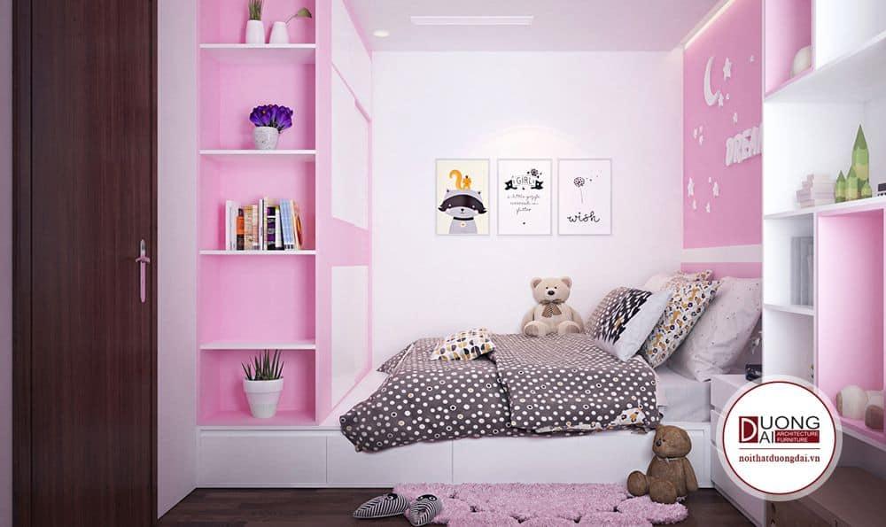 Nội thất đa năng là sự lựa chọn hoàn hảo cho phòng ngủ trẻ nhỏ