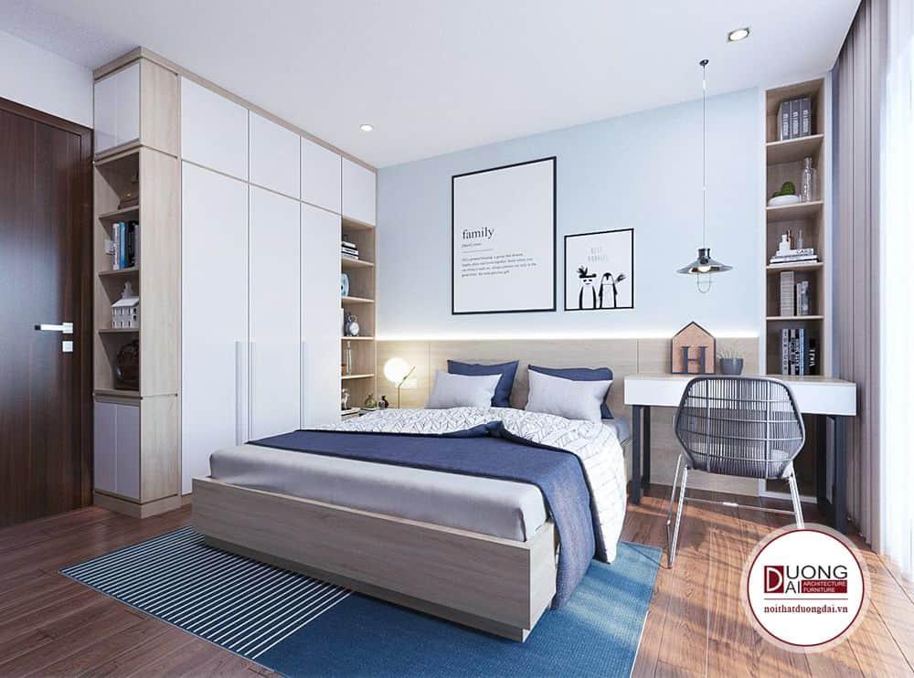 Thiết kế phòng ngủ 12m2 đẹp cho gia đình
