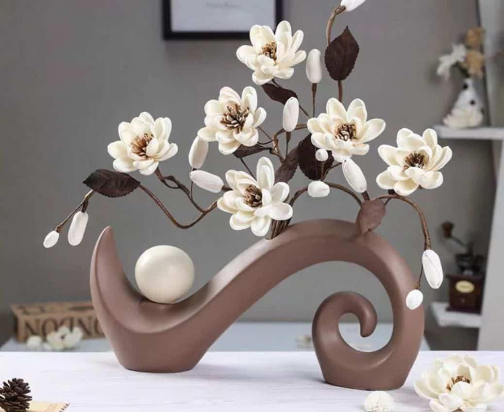 Cành hoa giả