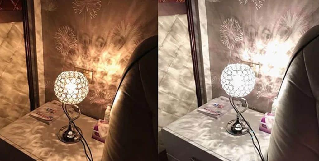 đèn pha lê đẹp