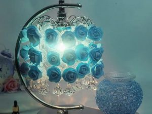 Đèn trang trí để bàn bằng pha lê thiết kế đẹp GHO-296