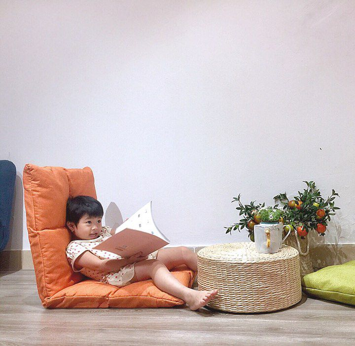 Ghế sofa đệm vải nhung cao cấp GHS-6410 (ghế lười)