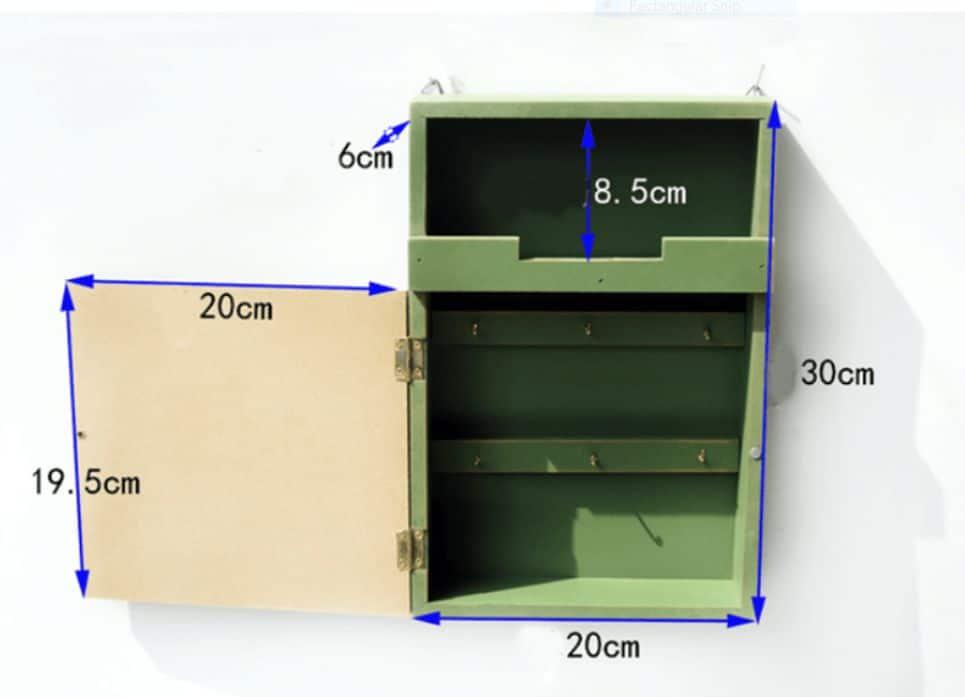 hộp móc treo đồ