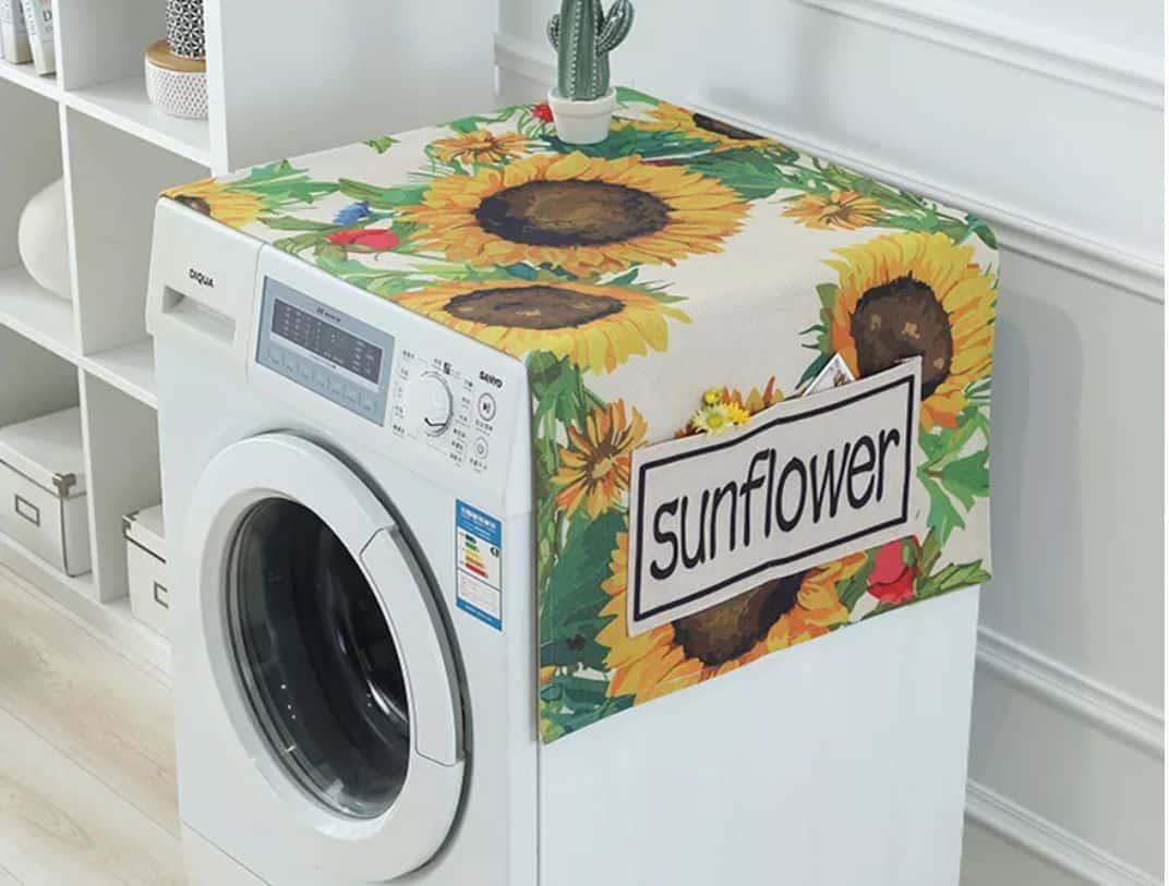 Khăn phủ máy giặt