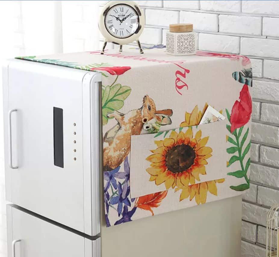Khăn phủ tủ lạnh