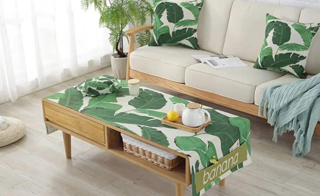 khăn trải bàn trà