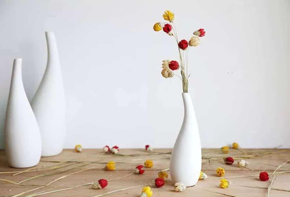 lọ hoa gốm trang trí
