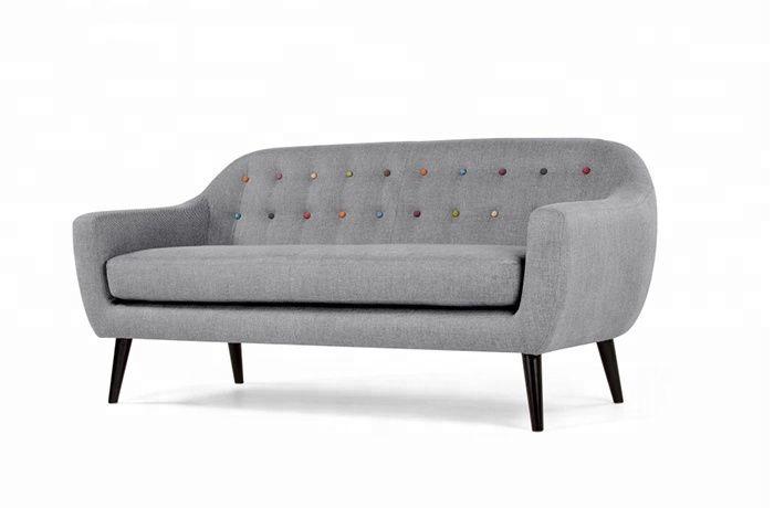 Sofa Vải Nỉ Đẹp, Đơn Giản, Phù Hợp Cho Căn Hộ Kém Diện Tích