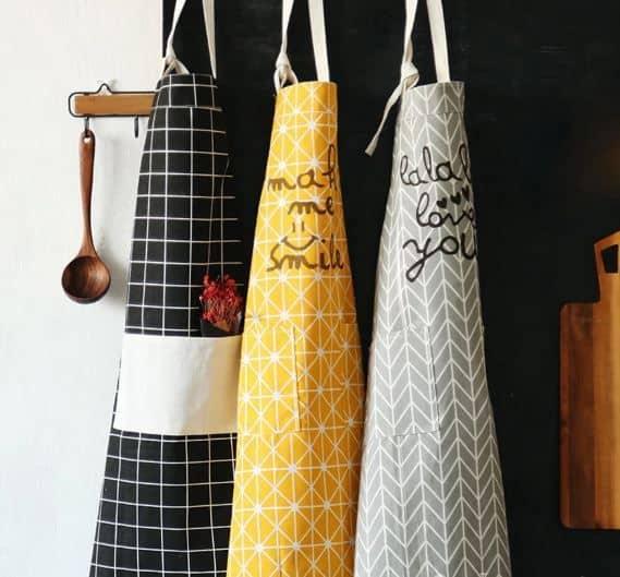Tạp dề nhà bếp họa tiết đẹp GHS-6303