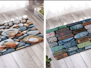 Thảm trải sàn nhà họa tiết ấn tượng GHO-304